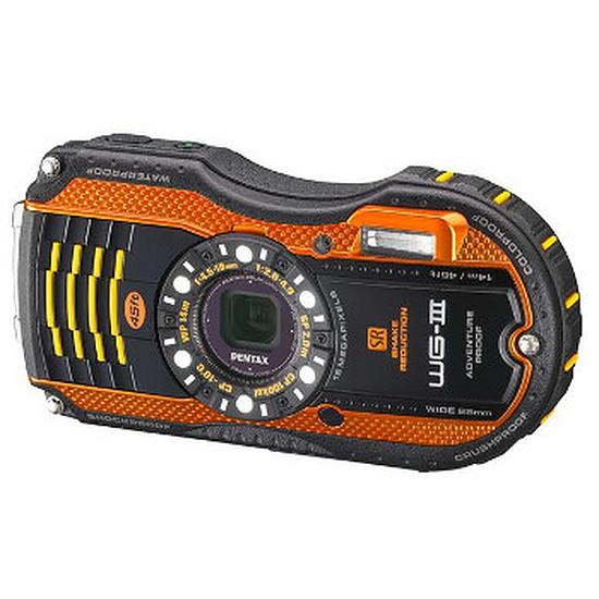 Appareil photo compact ou bridge Pentax WG-3 Orange