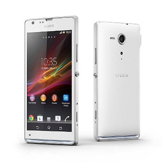 Smartphone et téléphone mobile Sony Mobile Xperia SP (blanc)