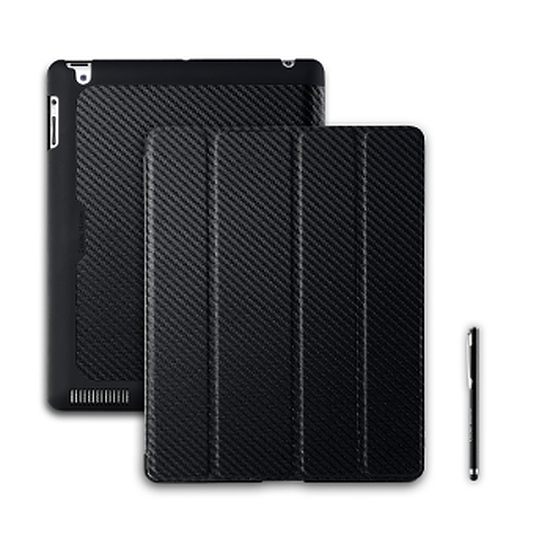 Accessoires tablette tactile Cooler Master Wake Up Folio Carbone + Stylet – Noir