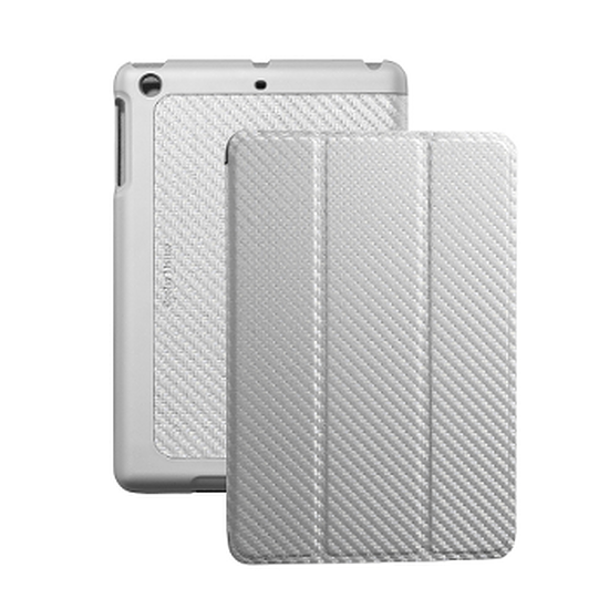 Accessoires tablette tactile Cooler Master iPad Mini Wake Up Folio Carbone - Argent