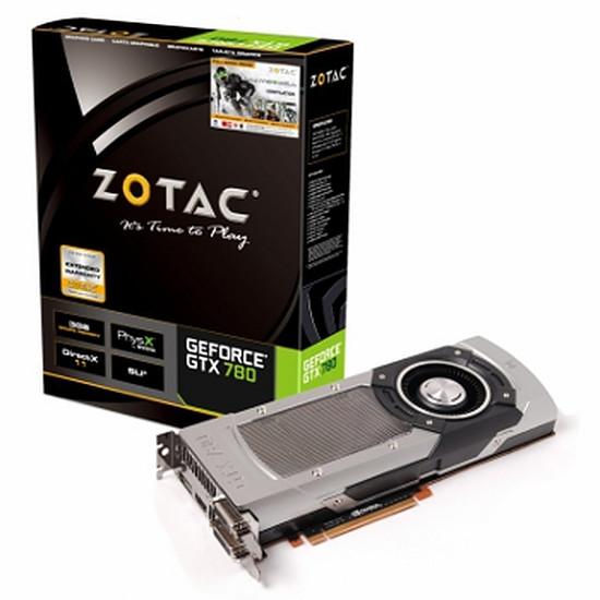 Carte graphique Zotac GeForce GTX 780 - 3 Go (ZT-70201-10P)