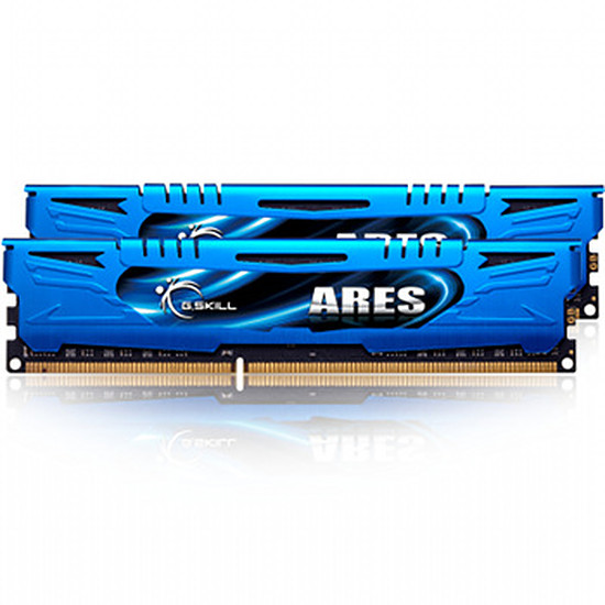 Mémoire G.Skill Extreme3 ARES DDR3 2 x 4 Go 2400 MHz CAS 11