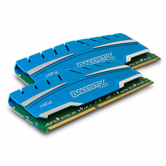 Mémoire Crucial Ballistix Sport XT DDR3 2 x 4 Go 1600 MHz CAS 9