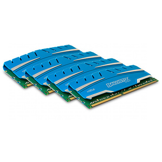 Mémoire Crucial Ballistix Sport XT DDR3 4 x 4 Go 1600 MHz CAS 9