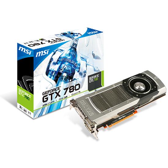 Carte graphique MSI GeForce GTX 780 - 3 Go (N780-3GD5)