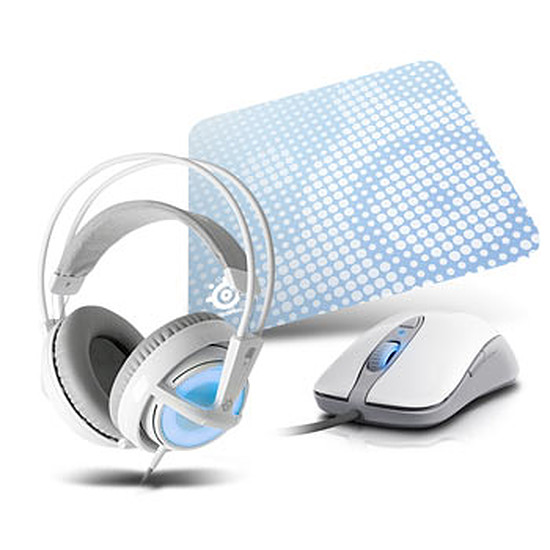 Souris PC SteelSeries Frost Blue Gaming Pack