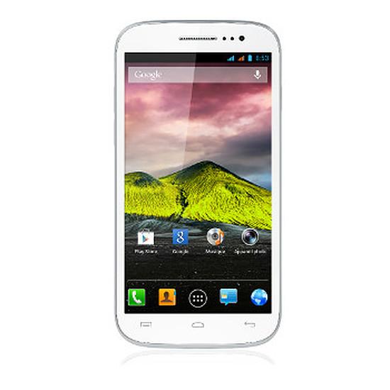 Smartphone et téléphone mobile Wiko Cink Five (blanc)