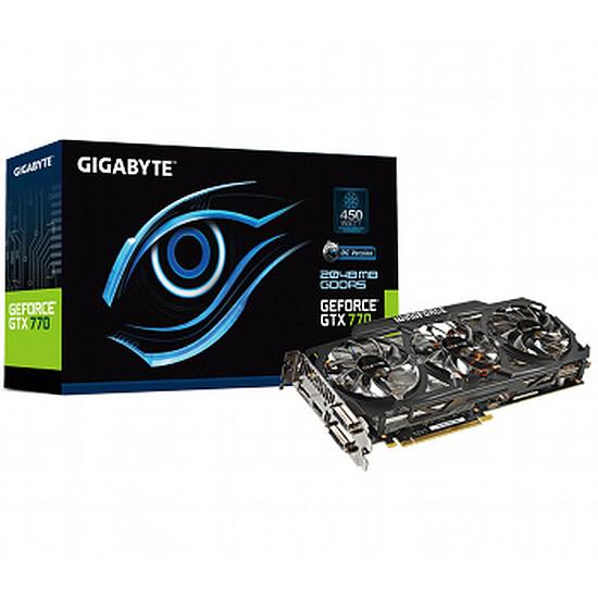 Carte graphique Gigabyte GeForce GTX 770 OC - 2 Go (GV-N770OC-2GD)