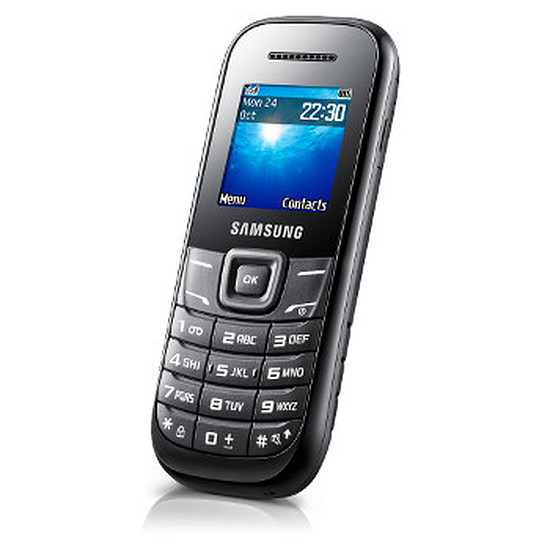 Smartphone et téléphone mobile Samsung E1200I (noir)