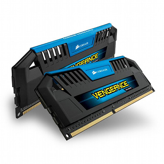 Mémoire Corsair VENGEANCE PRO BLUE DDR3 2 x 4 Go 1600 MHz CAS 9