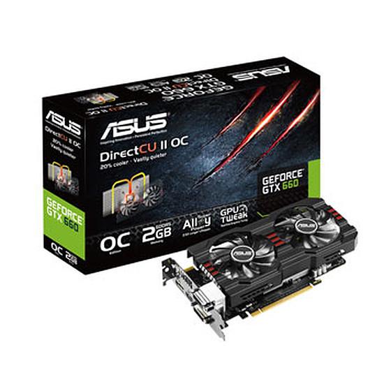 Carte graphique Asus GeForce GTX 660 OC - 2 Go (GTX660-DC2OCPH-2GD5)