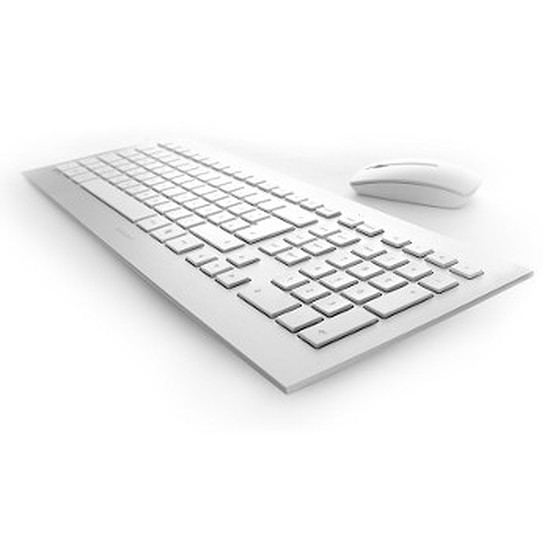 Pack clavier-souris bureautique Cherry DW 8000 Belge