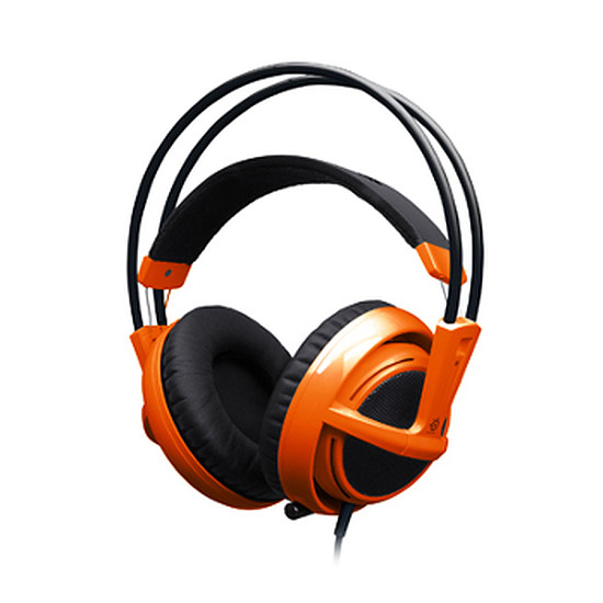 Casque micro SteelSeries Siberia v2 Orange
