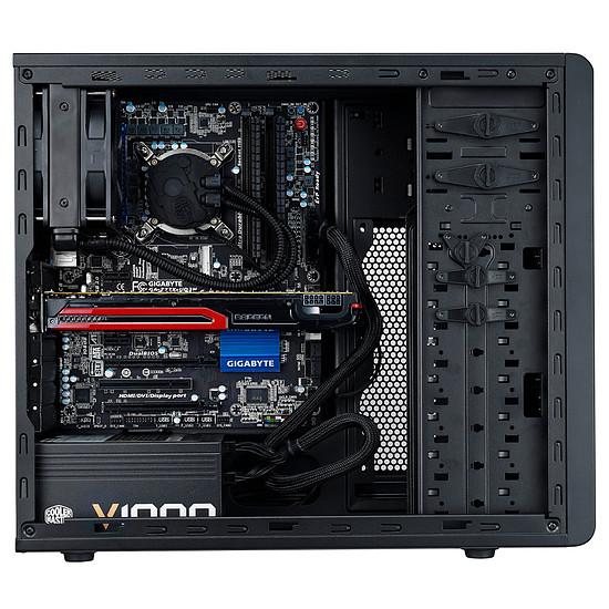 Boîtier PC Cooler Master N300 + MasterWatt Lite 600 + Hyper TX3i - Autre vue