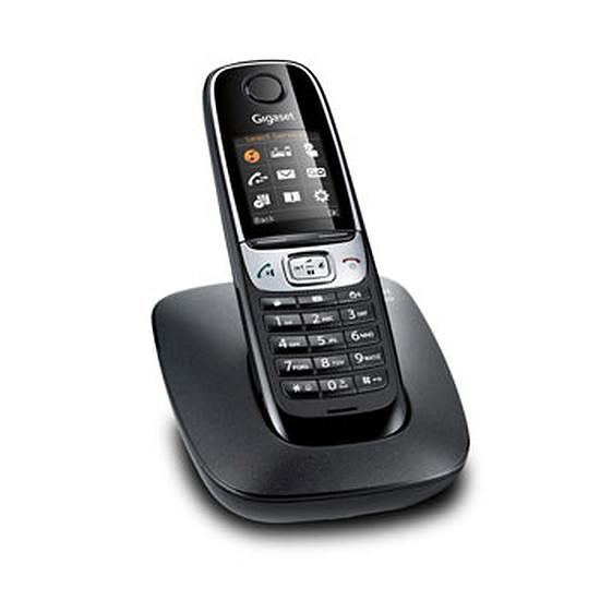 Téléphone fixe sans fil Gigaset C620 (noir)