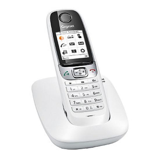 Téléphone fixe sans fil Gigaset C620 (blanc)