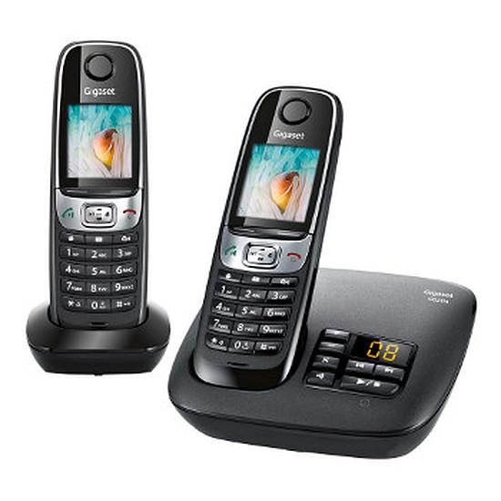 Téléphone fixe sans fil Gigaset C620A Duo (noir)