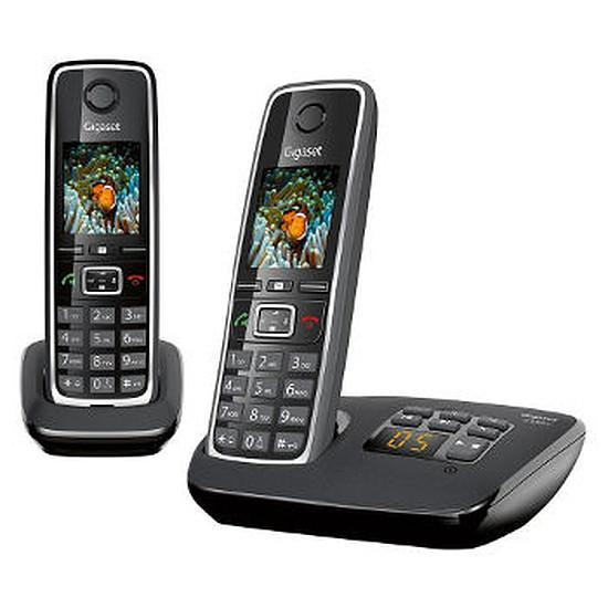 Téléphone fixe sans fil Gigaset C530A Duo (noir)