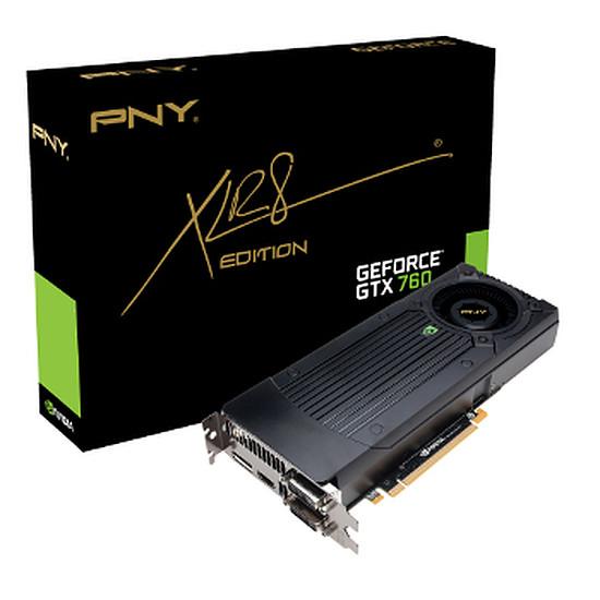 Carte graphique PNY GeForce GTX 760 - 2 Go  (GF760GTX2GEPB)