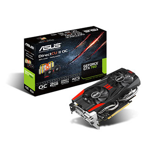 Carte graphique Asus GeForce GTX 760 OC - 2 Go  (GTX760-DC2OC-2GD5)