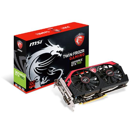 Carte graphique MSI GeForce GTX 760 OC TF - 2 Go