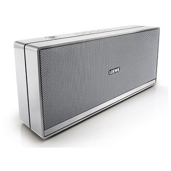 Enceinte Bluetooth Loewe Speaker 2Go Chrome-Silver