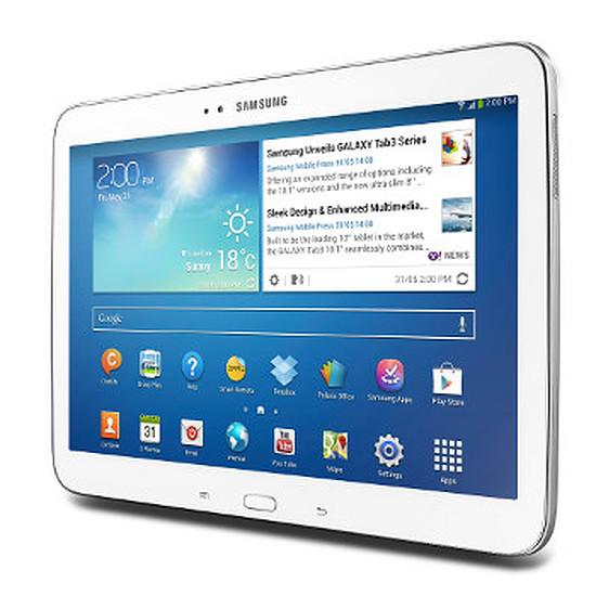 """Tablette Samsung Galaxy Tab 3 10.1"""" 16Go - 3G (Blanc)"""