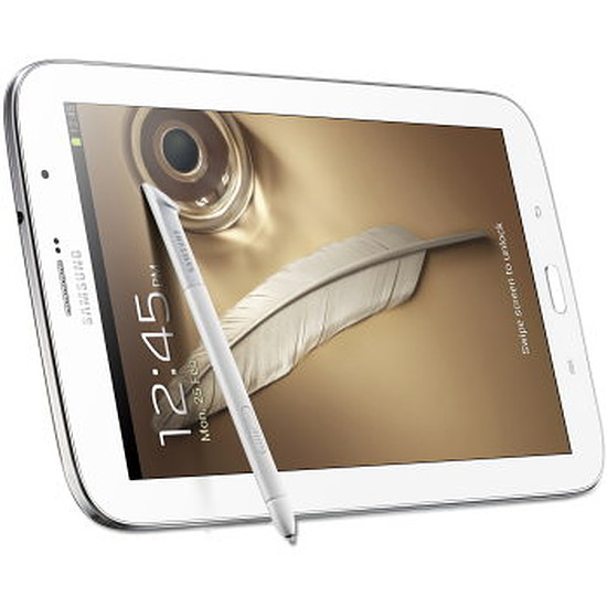 Tablette Samsung Galaxy Note 8.0 16Go - 4G LTE (Blanc)