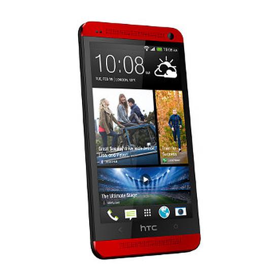 Smartphone et téléphone mobile HTC One (rouge)