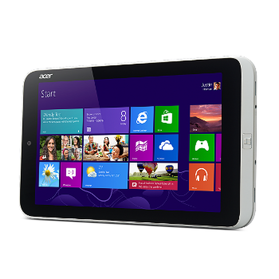 Tablette Acer Iconia W3-810 - 32 Go