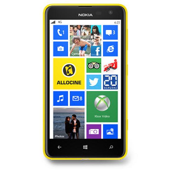 Smartphone et téléphone mobile Nokia Lumia 625 (jaune)