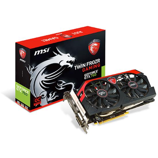 Carte graphique MSI GeForce GTX 760 OC TF - 4 Go (N760 TF 4GD5/OC)