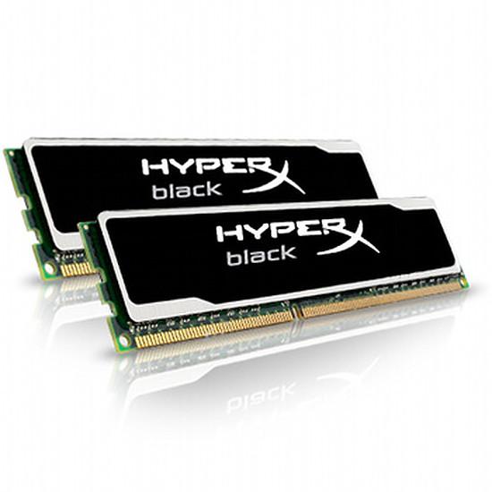 Mémoire Kingston Kit HyperX Black DDR3 2 x 4 Go PC12800 CAS 9