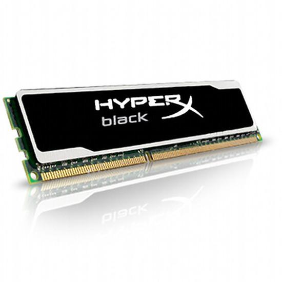 Mémoire Kingston HyperX Black DDR3 8 Go PC12800 CAS 10