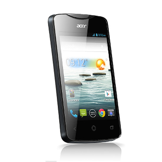 Smartphone et téléphone mobile Acer Liquid Z3 Duo (noir)