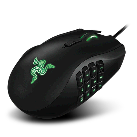 Souris PC Razer Naga 2014 pour gaucher