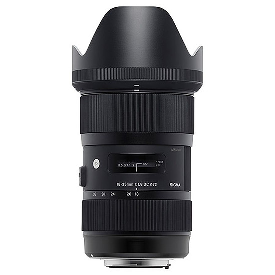 Objectif pour appareil photo Sigma 18-35mm f/1,8 HSM ART (Nikon)