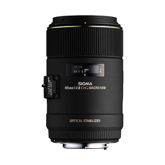 Objectif pour appareil photo Sigma 105mm f/2.8 DG Macro EX DG HSM (Canon)