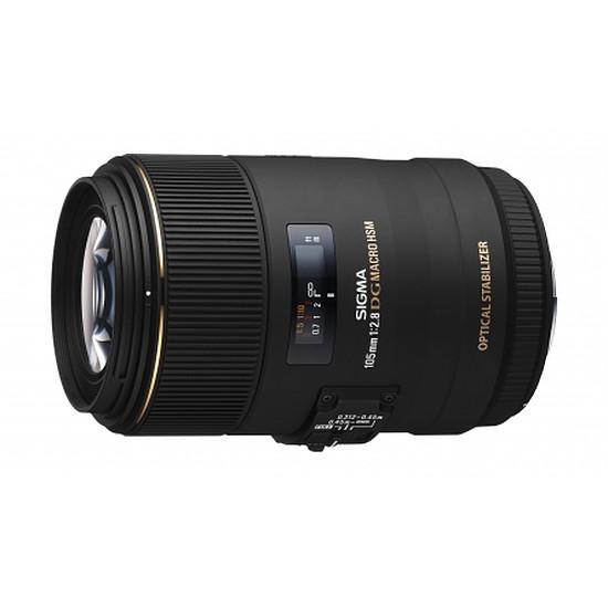 Objectif pour appareil photo Sigma 105mm f/2.8 DG Macro EX DG HSM (Canon) - Autre vue