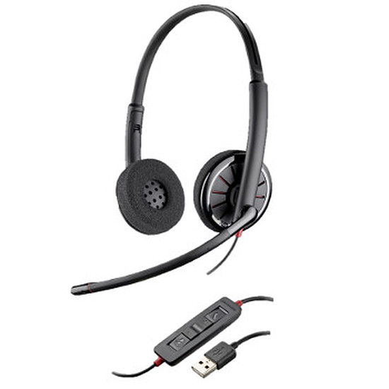 Casque micro Plantronics Blackwire C320