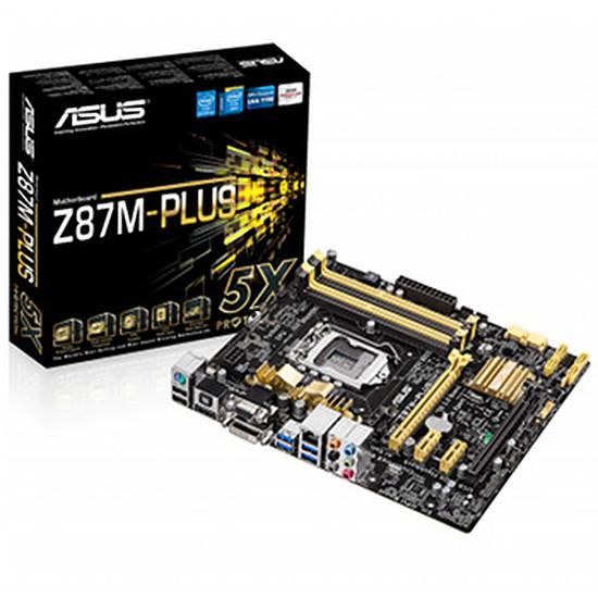 Carte mère Asus Z87M-PLUS C2