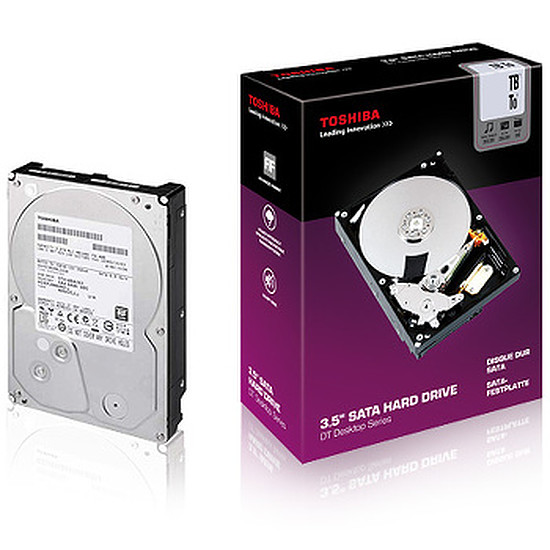 Disque dur interne Toshiba DT Series - 2 To (PA4292E-1HL0)