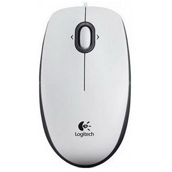 Souris PC Logitech B100 - Blanc