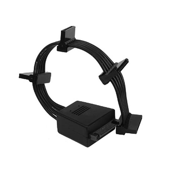 Alimentation Silverstone Câble flexible CP06 / 4 SATA