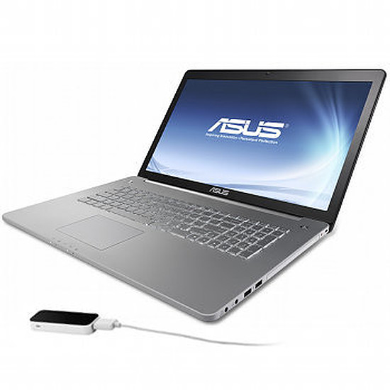 PC portable Asus N750JV-T4169H - Leap Motion Edition