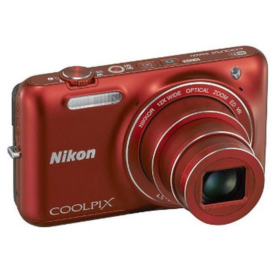 Appareil photo compact ou bridge Nikon Coolpix S6600 Rouge