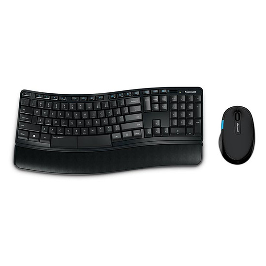 Pack clavier-souris bureautique Microsoft Sculpt Comfort Desktop