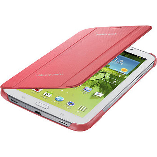"""Accessoires tablette tactile Samsung Book Cover - Galaxy Tab 3 7"""" (Rose)"""