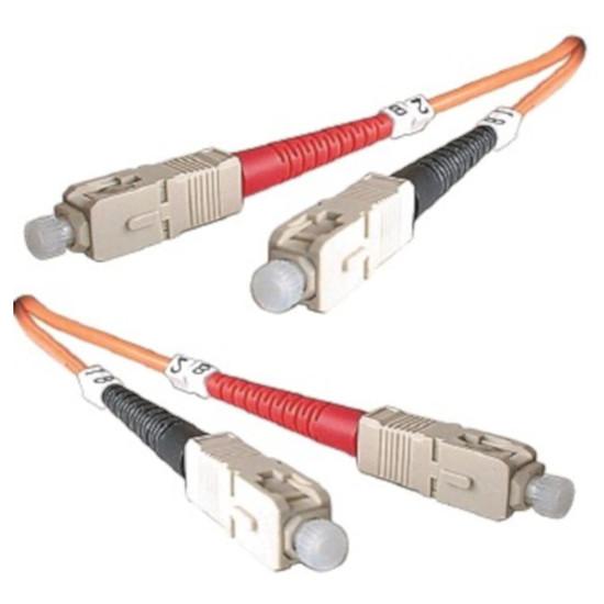Câble fibre Optique  Câble optique SC/SC, 62,5 um - 1m
