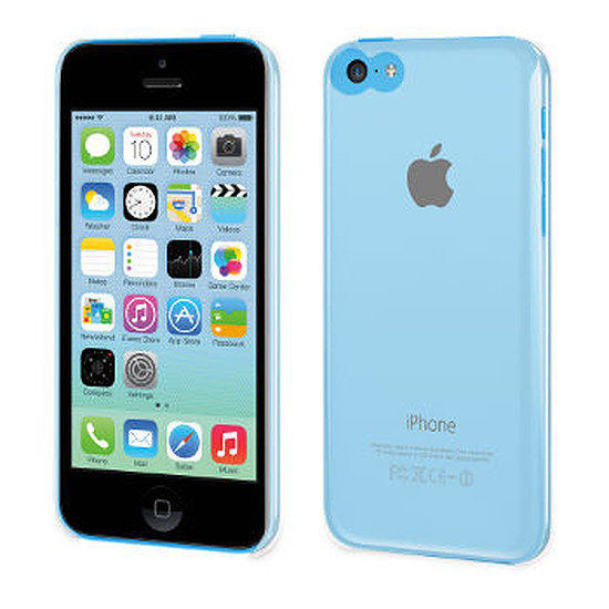 Coque et housse Muvit Coque clearback (transparente) - iPhone 5c